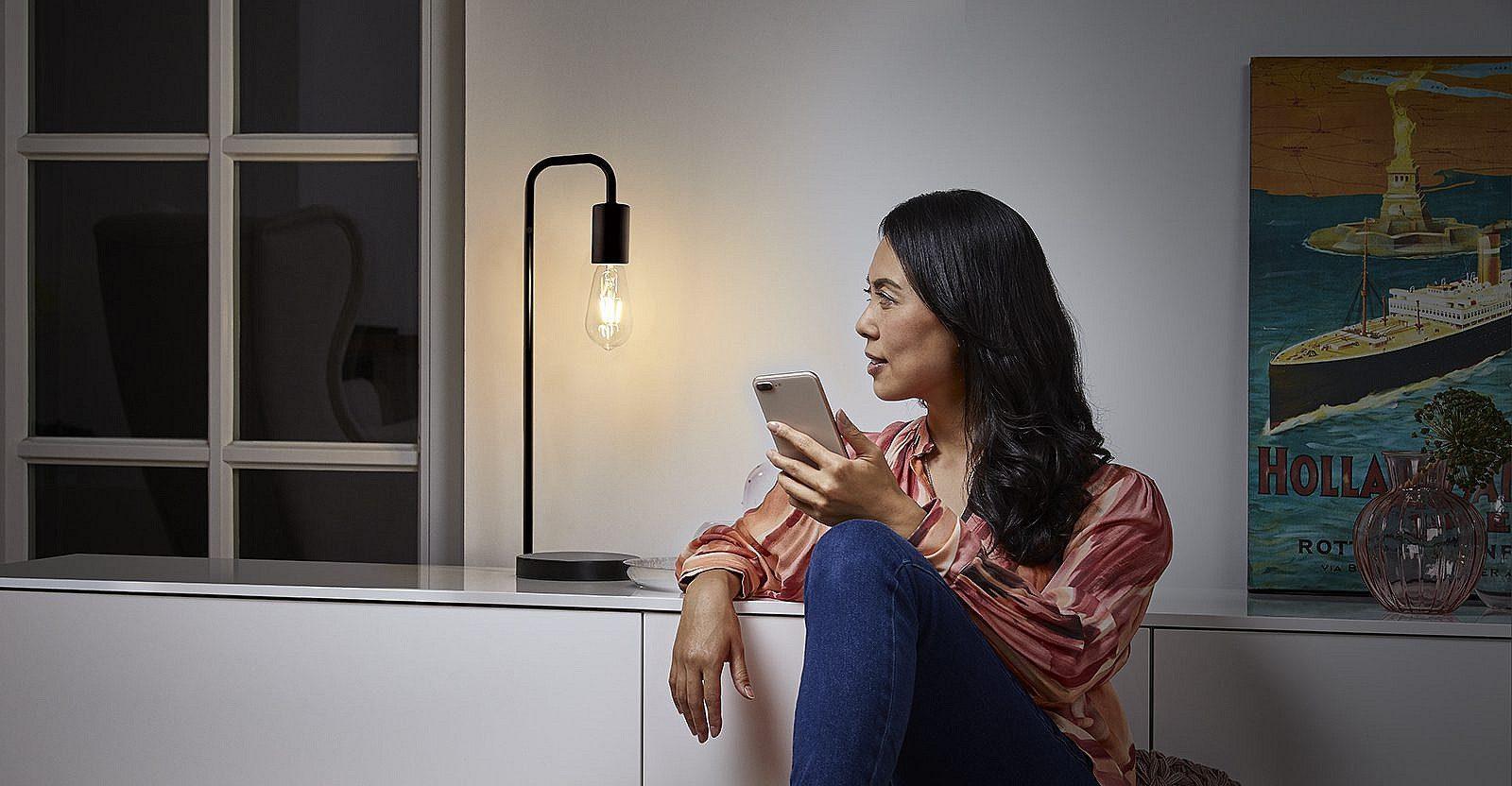 Smart belysning hjemmet